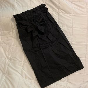 Who What Wear Paperbag Tie Pencil Skirt sz SMALL